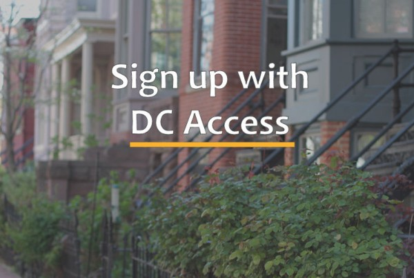 Sign up with DC Access Wireless Internet