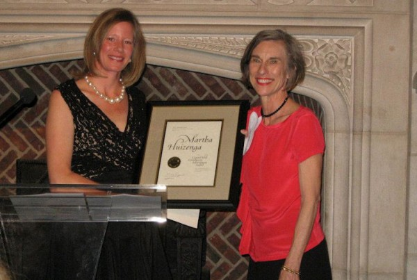DC Access found Martha accepting CHCFA award