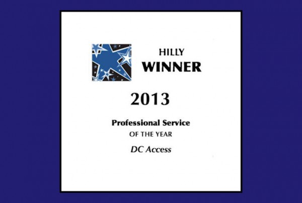 DC Access Hilly Award Winner 2013