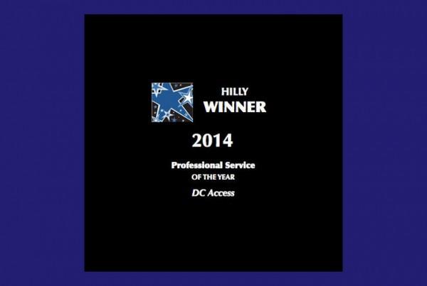 DC Access Hilly Award winner 2014